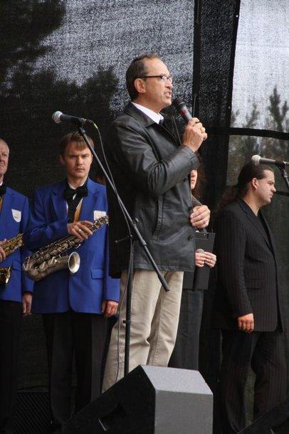 Palangos meras Vytautas Stalmokas.