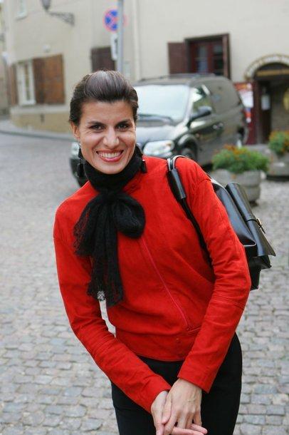Foto naujienai: Renatą Mikailionytę aplankė gandrai?