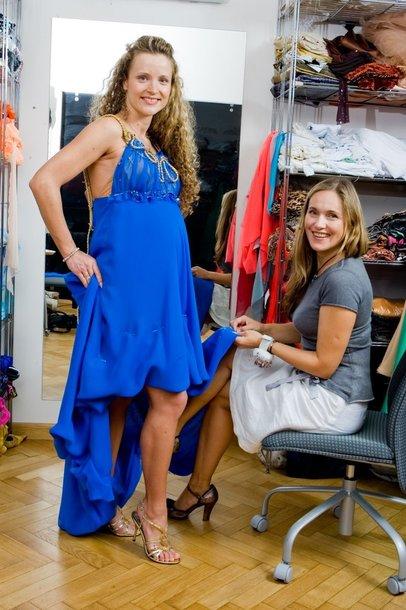 Foto naujienai: Editos Daniūtės suknelė debiutui
