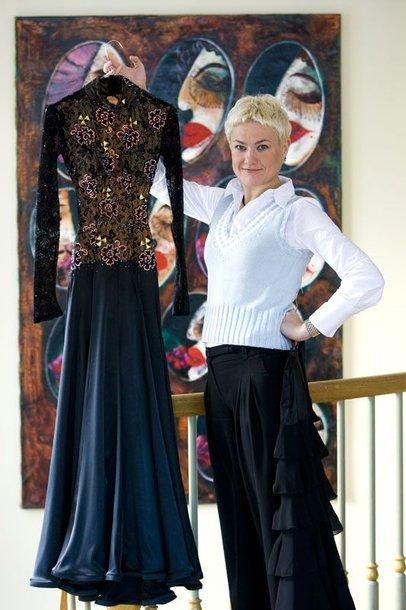 Foto naujienai: Rasa Martens: tango suknelės niekam neatiduosiu!