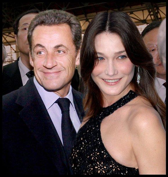 Foto naujienai: Nicolasas Sarkozy vedė Carlą Bruni
