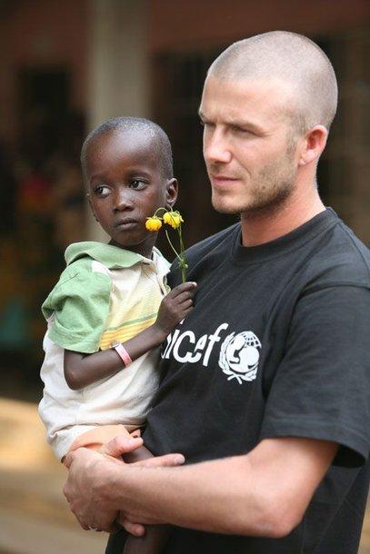 Foto naujienai: Davidas Beckhamas iš Afrikos grįžo apstulbęs