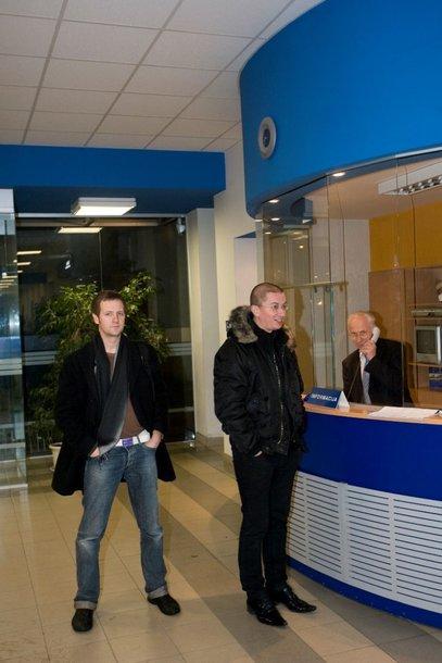 Foto naujienai: Dizaineris Aleksandras Pogrebnojus vos pateko į LTV