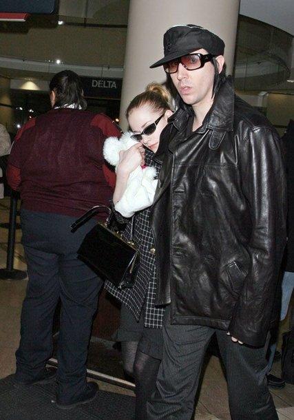 Foto naujienai: Marilyn Manson susižadėjo su Evan Rachel Wood?