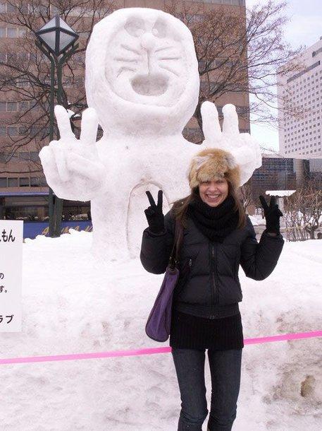 Foto naujienai: Gitana Virbickienė: sniego į... Japoniją