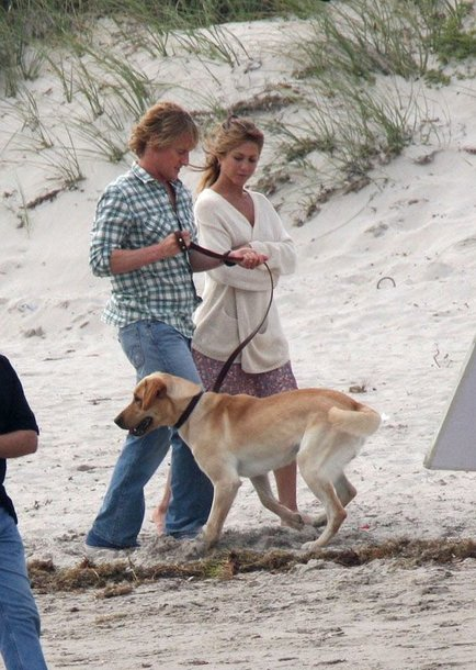 """Foto naujienai: Ar Jennifer Aniston """"kabina"""" Oweną Wilsoną?"""