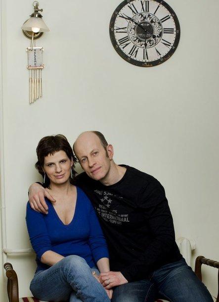 Foto naujienai: Jurga Gusarovienė ir Markas Šliamovičius: iš pagarbos gimusi meilė
