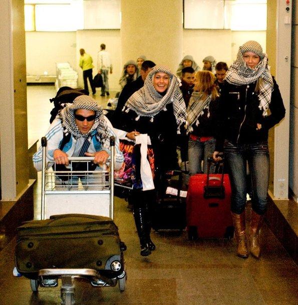 """Foto naujienai: Trumpa laidos """"Dzin"""" kelionė į Egiptą"""
