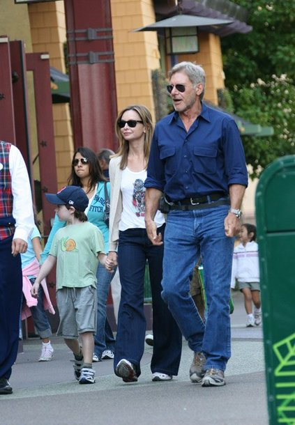 Foto naujienai: Harrisonui Fordui patinka būti tėveliu