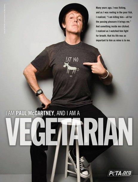 Foto naujienai: Paulas McCartney nori, kad visi pasaulyje taptų vegetarais