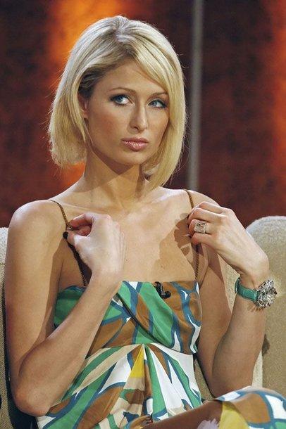 Foto naujienai: Paris Hilton susižeidė smakrą