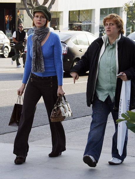 Foto naujienai: Cynthia Nixon ir neįprastos vedybos