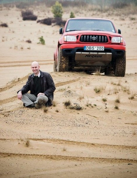 Foto naujienai: Merkys Saukevičius – verslininkas neformalas