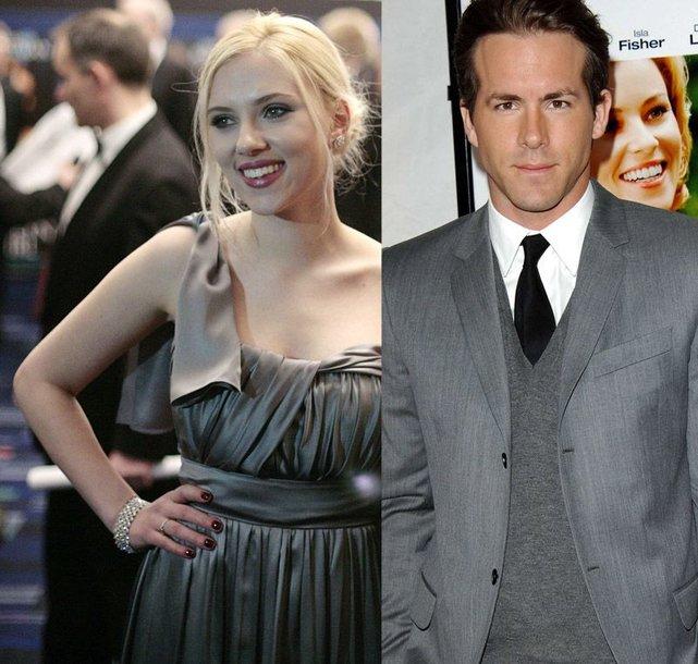 Foto naujienai: Scarlett Johansson ir Ryanas Reynoldsas susižadėjo