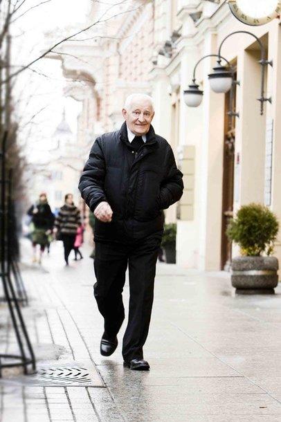"""Foto naujienai: Gediminas Girdvainis: """"Esu praėjusio šimtmečio žmogus"""""""