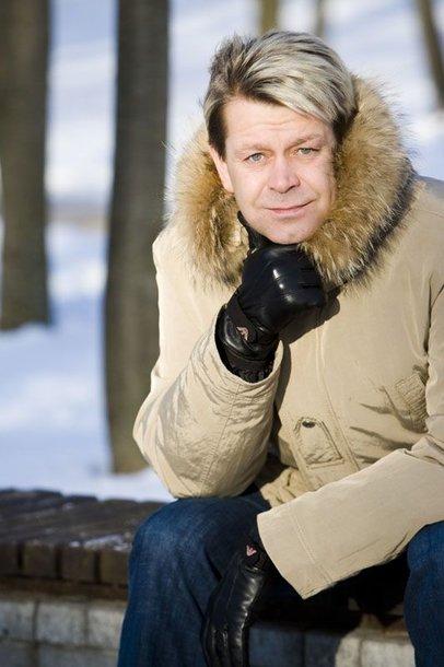 Foto naujienai: Arnas Klivečka mėgaujasi tėvyste