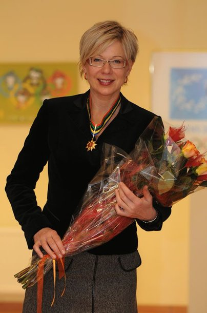 Foto naujienai: Laima Janušonytė apdovanota Olimpine žvaigžde ir KKSD Sporto garbės kryžiumi