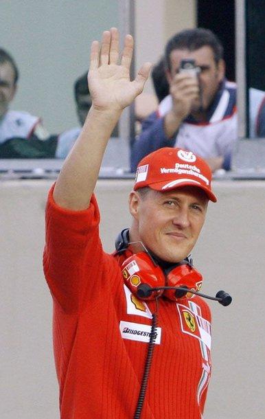 Michaelis Schumacheris. Ko bijo bebaimis Šumis?