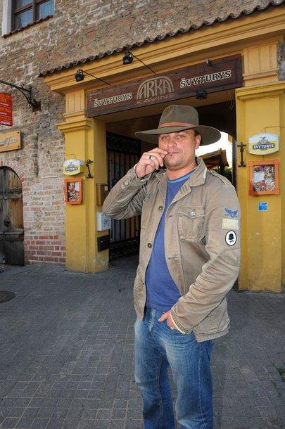 Foto naujienai: Kristupas Baublys – kaubojus
