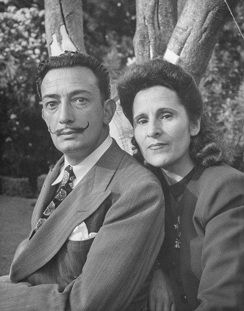 Foto naujienai: Salvadoras Dali (1904–1989) ir Gala (1894–1982): mudu niekada nesiskirsime