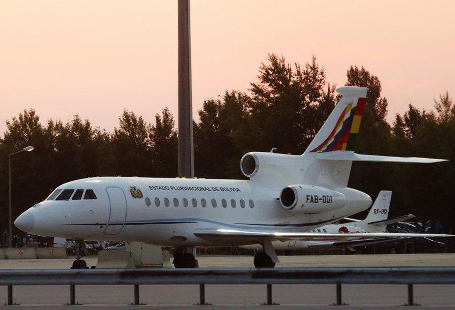 Bolivijos prezidento lėktuvas