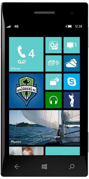 """Taip atrodys naujasis """"Windows Phone 8"""" pradinis langas."""
