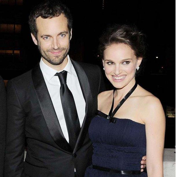 Benjaminas Millepiedas ir Natalie Portman