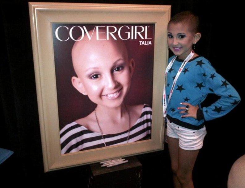 13-metė Talia Joy Castellano