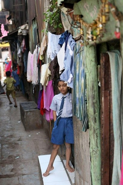 Dharavi lūšnynas Mumbajuje