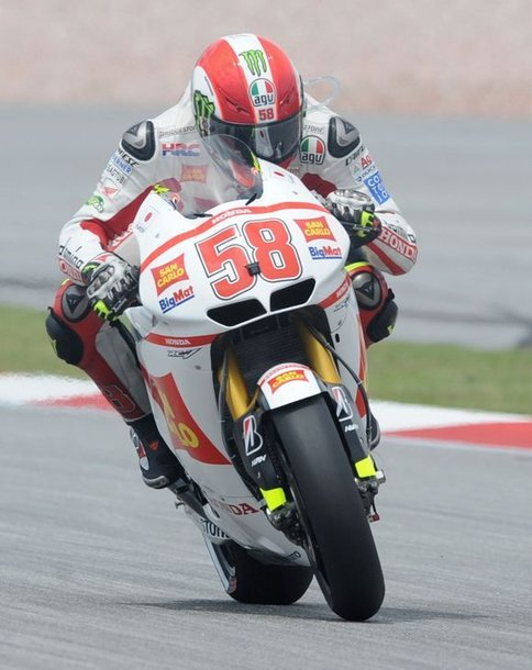 Marco Simoncelli lenktynėse