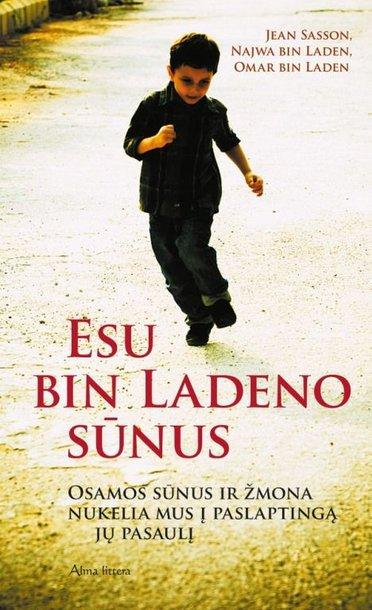 """Knygos """"Esu Bin Ladeno sūnus"""" viršelis"""