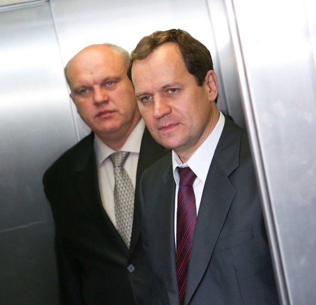 Vaidotas Prunskus ir Valdemaras Tomaševskis