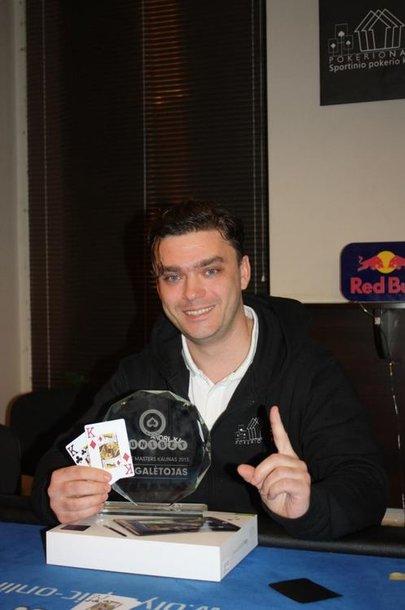 1 vietos laimėtojas Andrejus Afoninas