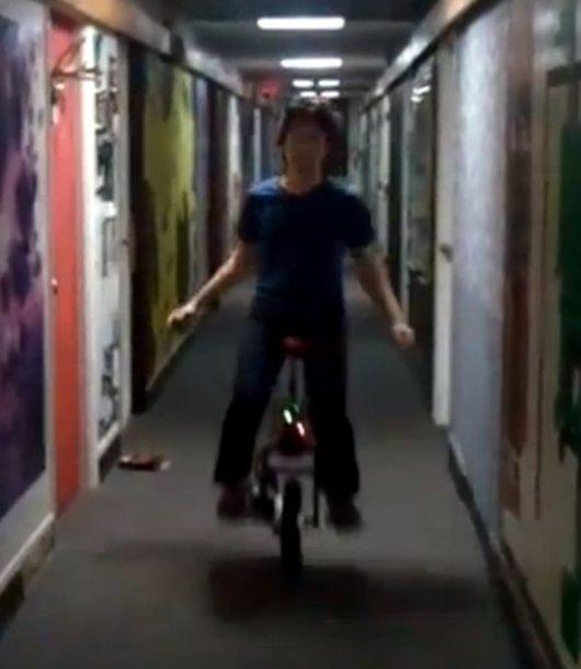 Studentas sukūrė transporto priemonę.