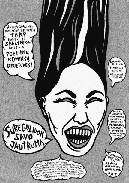 Poetinių komiksų dirbtuvės