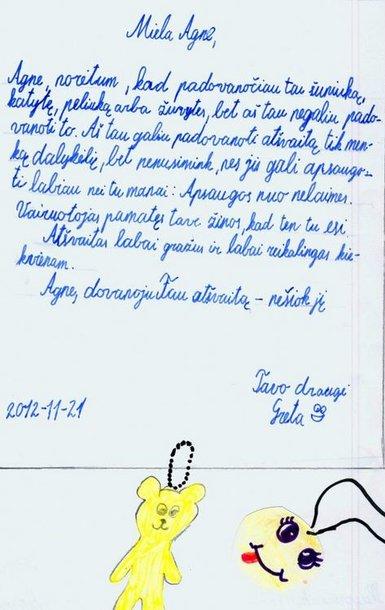 Laiškas.