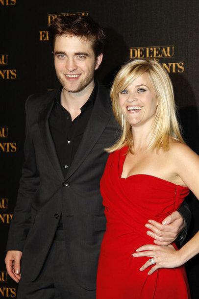 Robertas Pattinsonas ir Reese Witherspoon