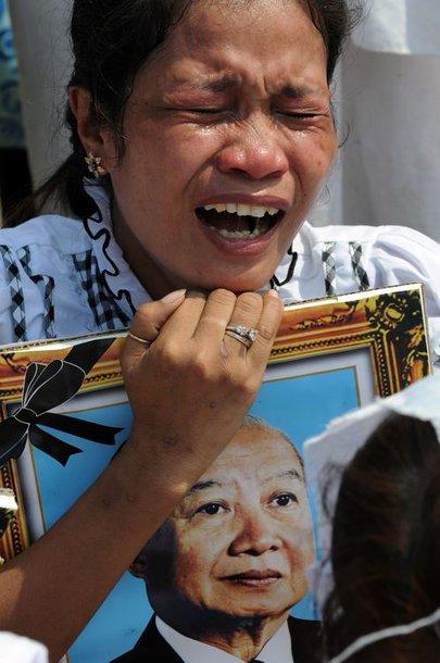 Kambodža gedi mirusio karaliaus Norodomo Sihanouko