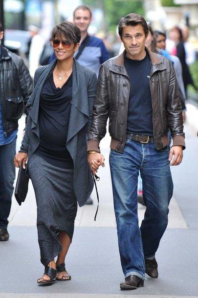 Halle Berry ir Olivier Martinezas Paryžiuje