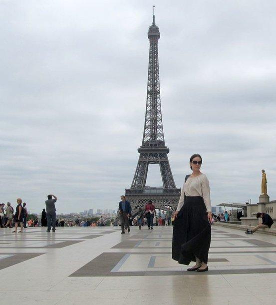Valda Bičkutė Paryžiuje