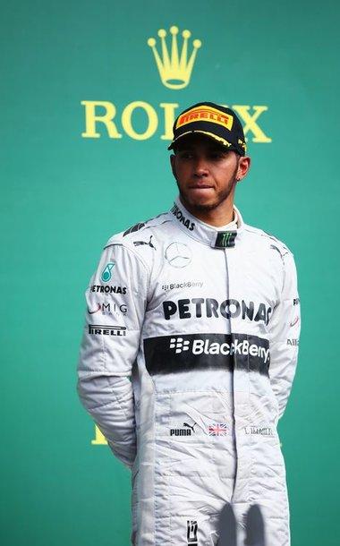 """Lewisas Hamiltonas, """"Mercedes GP"""""""