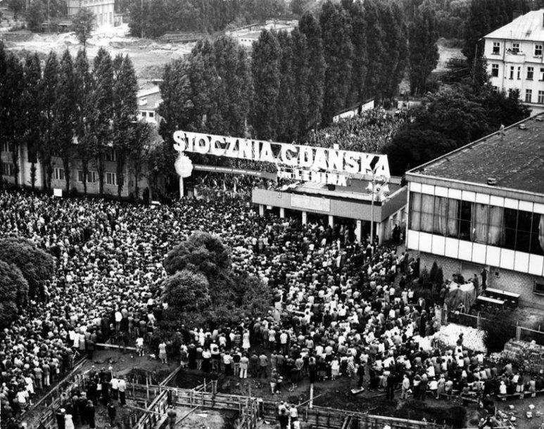 Solidarumo judėjimas Lenkijoje prasidėjo nuo streikų laivų statyklose