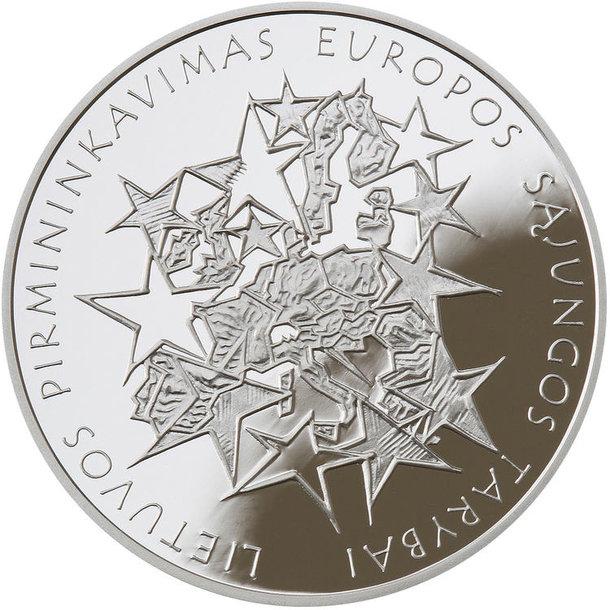 Lietuvos pirmininkavimui ES Tarybai skirta moneta