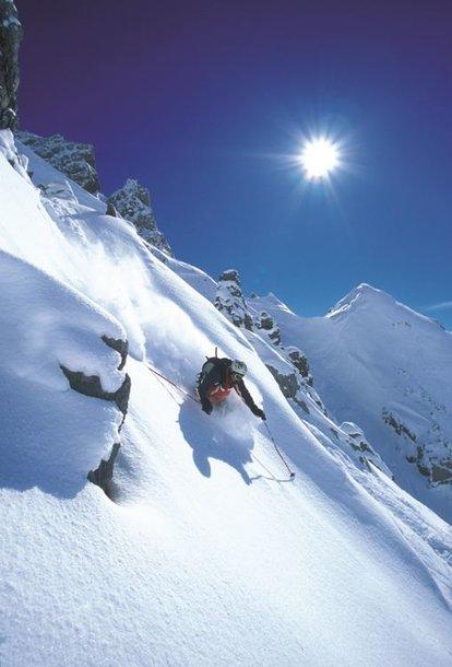 Saulė Austrijos kalnuose