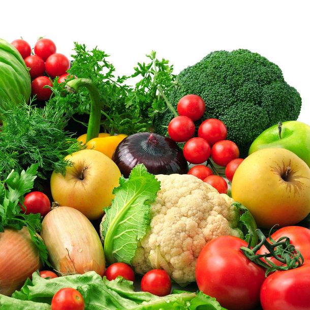 Daržovės ir vaisiai padeda lieknėti