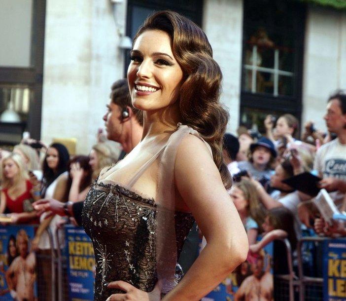 Aktorė ir modelis Kelly Brook