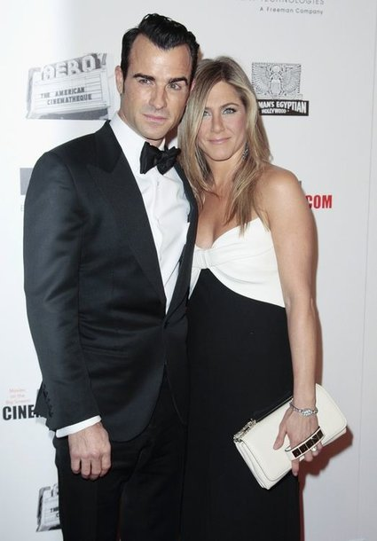 Justinas Theroux ir Jennifer Aniston