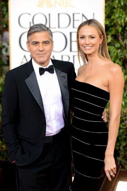 George'as Clooney ir Stacy Keibler