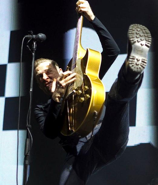Akimirka iš Bryano Adamso koncerto