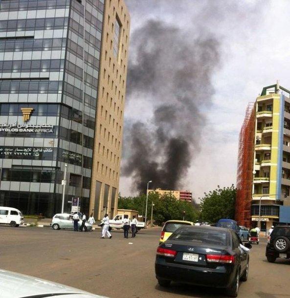 Dūmai iš Vokietijos ambasados